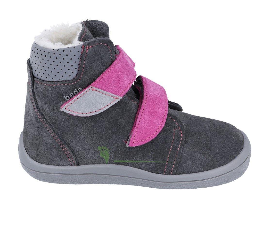 Barefoot Beda Barefoot - Isabel - zimní boty s membránou model 2020 bosá