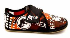 Ef barefoot papučky 394  TREX black -  uzavřené
