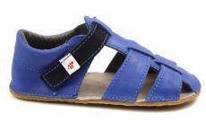Barefoot Ef barefoot sandálky - modré bosá