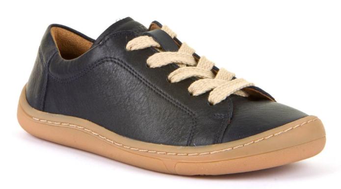 Barefoot Froddo barefoot celoroční boty dark blue - tkaničky bosá