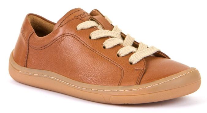 Barefoot Froddo celoroční barefoot boty brown - tkaničky bosá