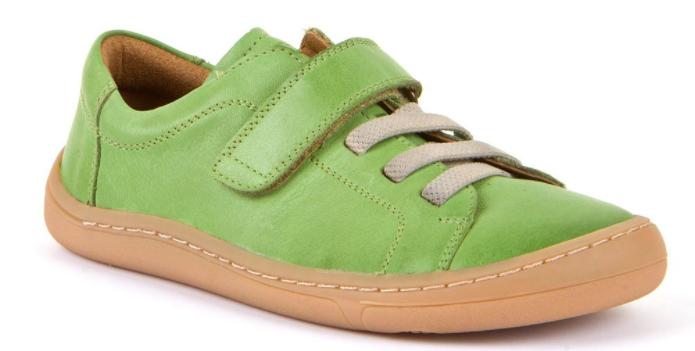 Barefoot Froddo celoroční barefoot boty olive - 1 suchý zip bosá