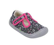 Barefoot Protetika Kirby grey - textilní tenisky/přezůvky bosá