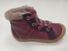 Barefoot Zimní barefoot boty RICOSTA Elia merlot 15302-380 bosá
