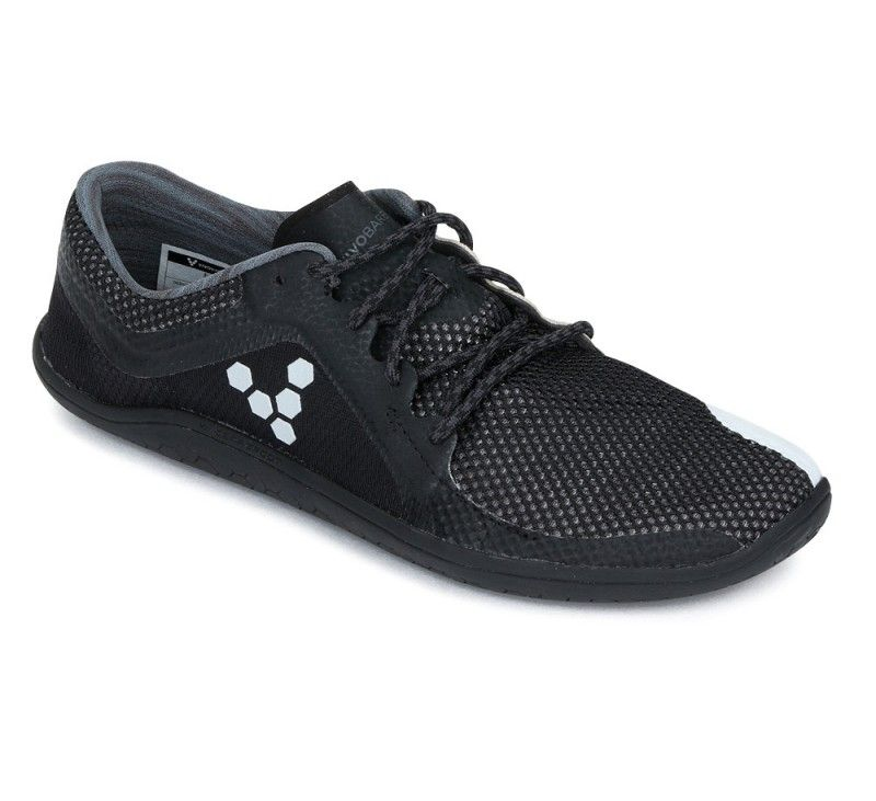 Barefoot Vivobarefoot PRIMUS ROAD M Black/Charcoal bosá