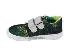 Barefoot Jonap barefoot B7V zelená - suché zipy SLIM bosá