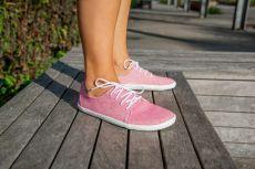 Barefoot AYLLA NUNA Pink L - užší, unisex bosá