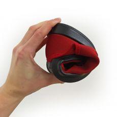 Barefoot Barefoot tenisky Anatomic červené s černou podrážkou bosá