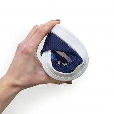 Barefoot Barefoot tenisky Anatomic modré s bílou podrážkou - mesh bosá
