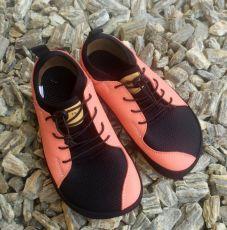 Barefoot tenisky Pegres  BF33 - lososová