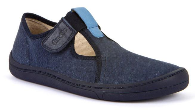 Barefoot Froddo barefoot tenisky dark blue otevřené bosá