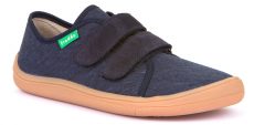 Froddo barefoot tenisky dark blue - světlá podrážka