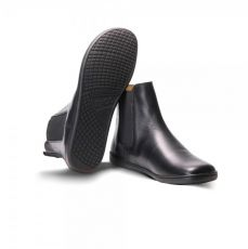 Barefoot Kožené boty ZAQQ EQUITY Black bosá