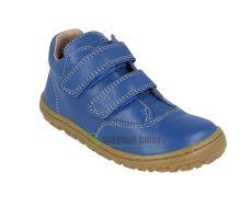Barefoot Lurchi celoroční barefoot boty - Nora nappa cobalto bosá