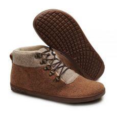 Barefoot Vlněné kotníkové boty ZAQQ LIQE mid toffee bosá