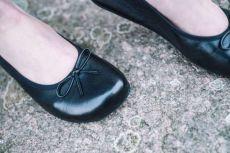 Barefoot Balerínky ZAQQ LOOQ Black bosá
