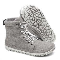 Barefoot Barefoot boty ZAQQ QICE Grey bosá