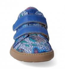 Barefoot Barefoot celoroční boty KOEL4kids - Bernardo royal flowers bosá
