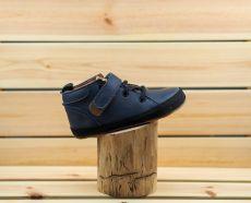 Barefoot kožené Pegres  BF32 - modrá