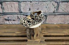 Barefoot sandálky Pegres  BF20 - leopard