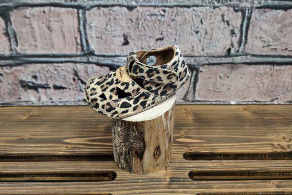 Barefoot Barefoot sandálky Pegres BF20 - leopard bosá