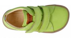 Barefoot Barefoot tenisky KOEL4kids - Bernardo nappa lime bosá