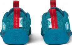Barefoot Dětské barefoot boty Affenzahn Lowcut Knit Shark-Blue bosá