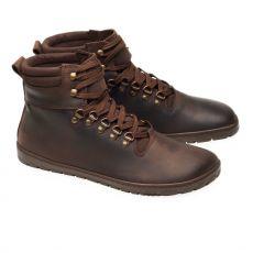 Kožené boty ZAQQ EXPEQ Brown Waterproof