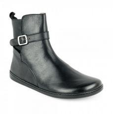 Kožené boty ZAQQ RIQUET Black