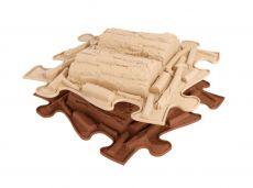 Ortopedická podlaha MUFFIK puzzle Klády