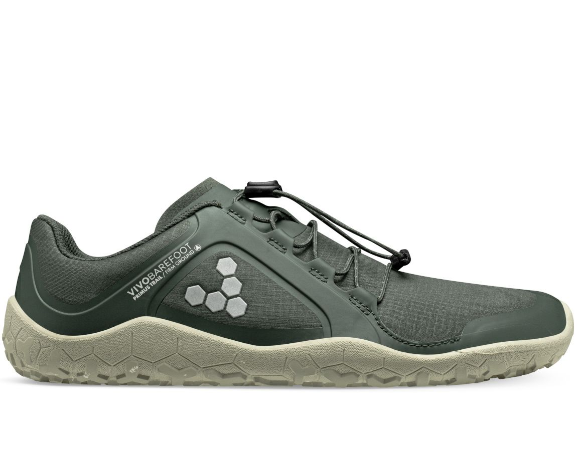 Barefoot Vivobarefoot PRIMUS TRAIL II ALL WEATHER FG WOMENS CHARCOAL bosá