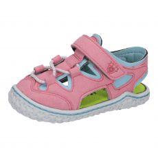 Barefoot sandálky RICOSTA Kenny rosato/turquise | 20, 21, 22, 23, 24, 26