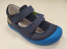 Barefoot DDstep 063 sandálky - modrá bosá