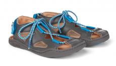 Dětské barefoot sandály Affenzahn Sandal Leather Dog-Grey