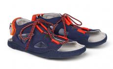 Dětské barefoot sandály Affenzahn Sandal Vegan Elephant-Blue
