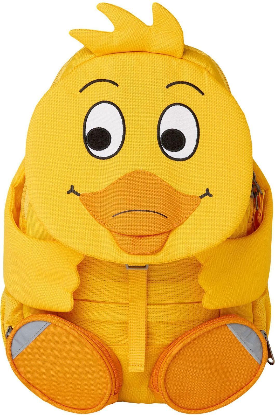 Barefoot Dětský batoh do školky Affenzahn Duck large - yellow bosá