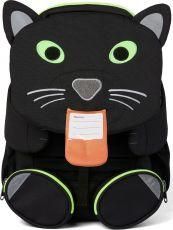 Barefoot Dětský batoh do školky Affenzahn Panther large - black bosá