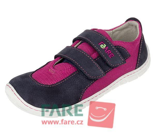 Barefoot FARE BARE DĚTSKÉ TENISKY B5416251 bosá