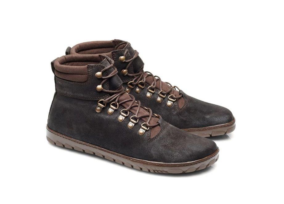 Barefoot Kožené boty ZAQQ EXPEQ Obscure Waterproof bosá