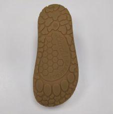 Barefoot Lurchi sandálky - NANDO suede Fuxia bosá