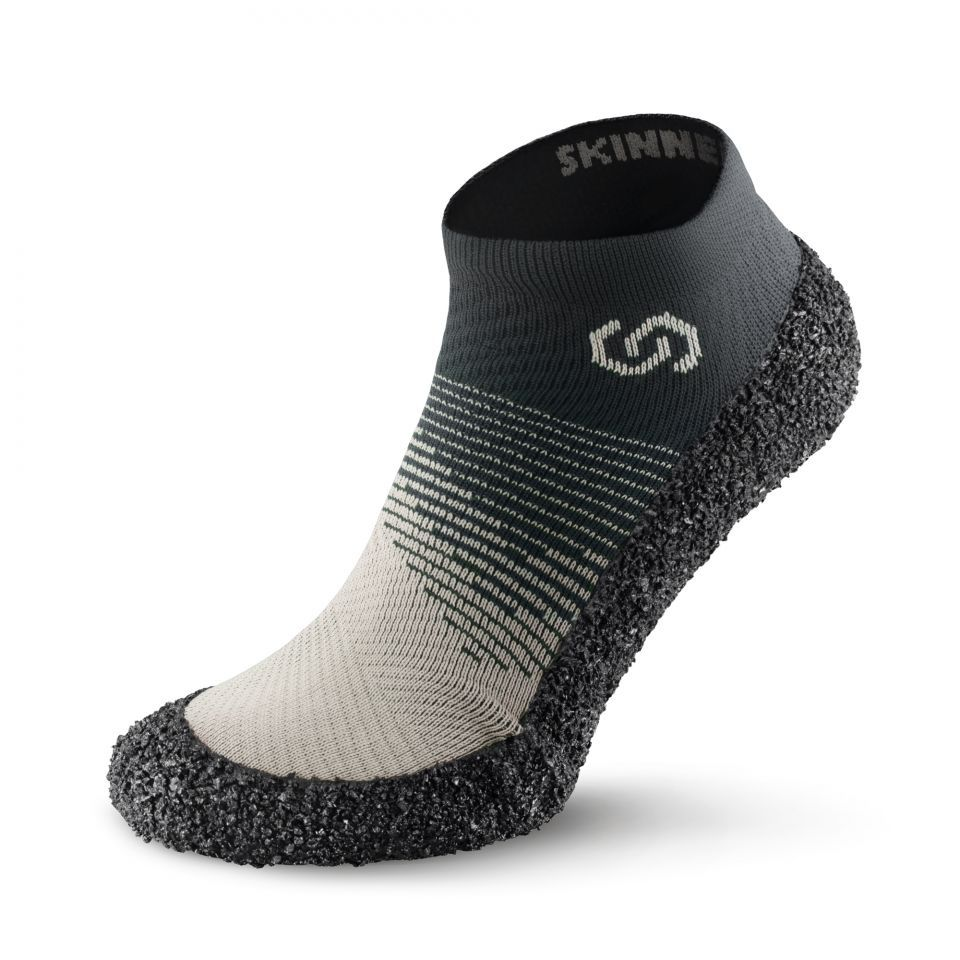 Barefoot Ponožkoboty SKINNERS 2.0 Ivory bosá