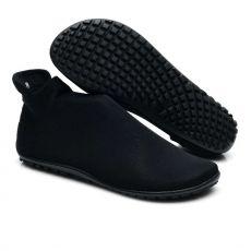 Barefoot Ponožkoboty ZAQQ SOQQ Black bosá