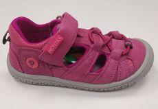 Protetika barefoot sandálky Bard fuxia | 27, 28