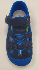 Barefoot Protetika barefoot sandálky Bard navy bosá
