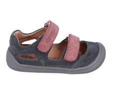 Protetika barefoot sandálky Berg grigio