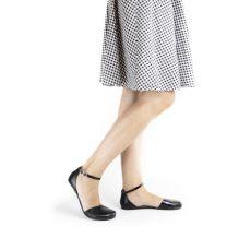 Barefoot SHAPEN Barefoot balerínky POPPY II BLACK bosá