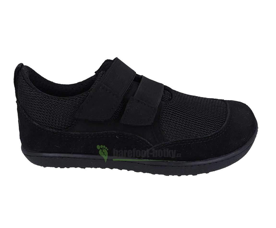 Barefoot Tenisky Sole runner Puck 2 černá mesh bosá