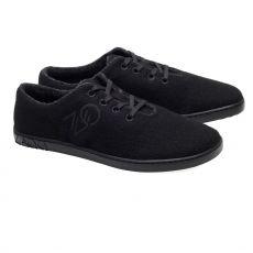 Barefoot Vlněné boty ZAQQ LIQE black bosá