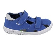 Jonap barefoot B8 sandále modrá MF slim