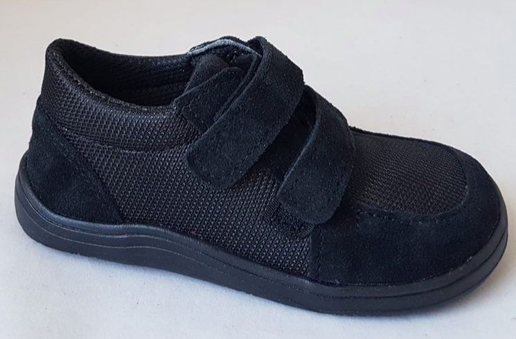 Barefoot Baby Bare Shoes Febo Sneakers Black bosá